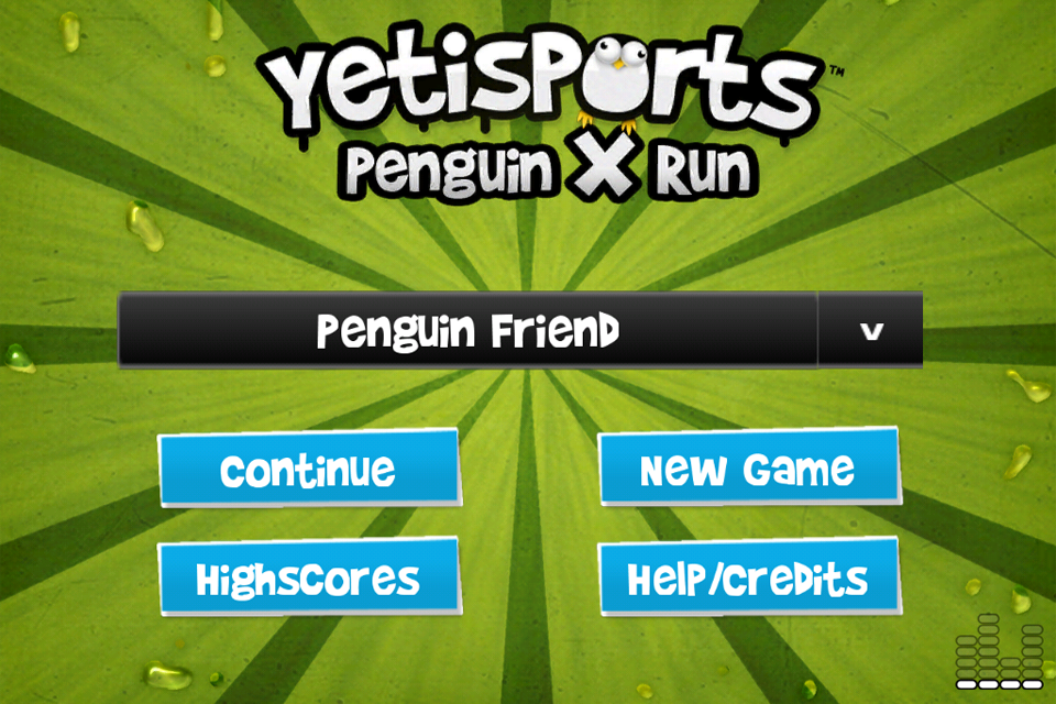 Screenshot Yetisports Penguin X Run*